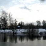 Dąbrówka zimą widok 1